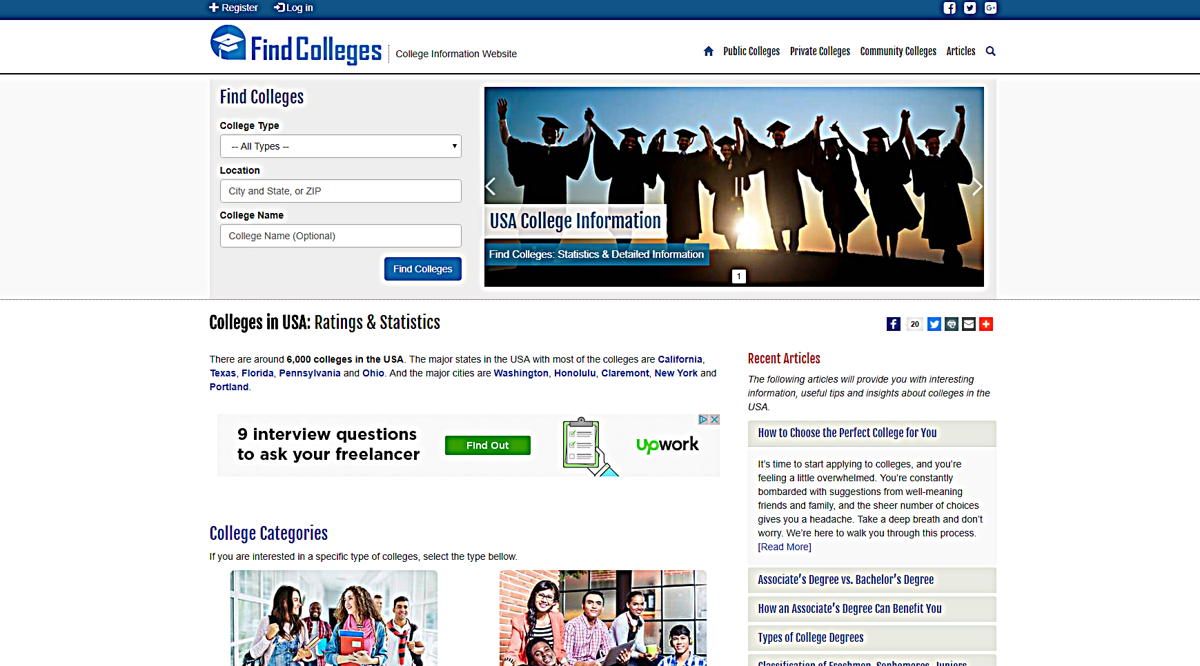 Find Colleges